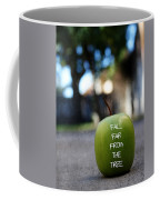 Fall Far From The Tree- Art By Linda Woods Coffee Mug