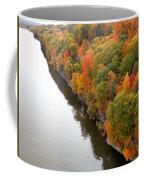 Fall Foliage In Hudson River 10 Coffee Mug