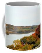 Fall Foliage In Hudson River 5 Coffee Mug