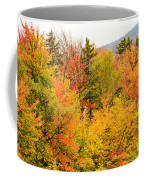 Fall Foliage In The Mountains Coffee Mug