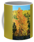 Fall Hillsides Above Dillon Reservoir Coffee Mug