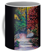 Fall In Quebec Canada Coffee Mug by Karin  Dawn Kelshall- Best