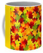 Fall Leaves Quilt Coffee Mug