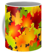 Fall Leaves Quilt Coffee Mug
