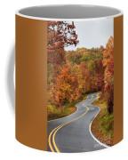 Fall Mountain Road Coffee Mug
