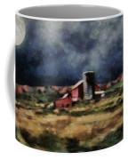 Fall Night At The Farm Coffee Mug