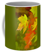 Fall Of Leaf Coffee Mug