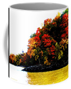 Fall On Grand Lake Coffee Mug