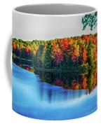 Fall On The Lake In Wisconsin Coffee Mug