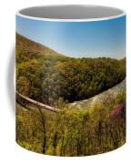 Fall On The Shenandoah River - West Virginia Coffee Mug