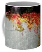 Fall On The Wall Coffee Mug