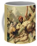 Fall On The Way To Calvary Coffee Mug