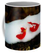 Fall Red Winter White Coffee Mug