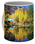 Fall Reflections At The Double Eagle Coffee Mug