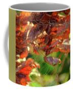 Fall Spiderweb Coffee Mug