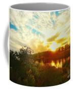 Fall Sunset At Lake Murray San Diego Coffee Mug