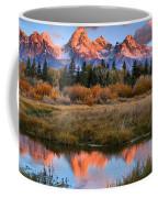 Fall Teton Tip Reflections Coffee Mug
