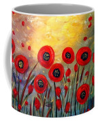 Fall Time Poppies  Coffee Mug
