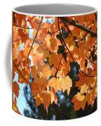 Fall Tree Art Prints Orange Autumn Leaves Baslee Troutman Coffee Mug