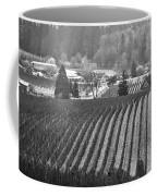 Vineyard In Black And White Coffee Mug