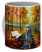 Fall  White Umbrella Coffee Mug
