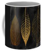 Fallen Gold II Autumn Leaves Coffee Mug