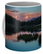 Fallen Leaf Sunset Serenity Coffee Mug