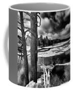 Fallen Trees In The Moose River Coffee Mug