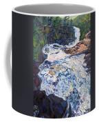 Falling Down Ragged Coffee Mug