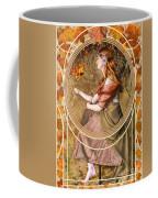 Falling Leaves Coffee Mug by John Edwards