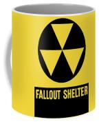 Fallout Shelter Sign Coffee Mug