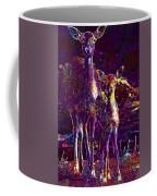 Fallow Deer Doe Fawn Hirsch Young  Coffee Mug