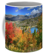 Fall's Finery At Rock Creek Lake Coffee Mug