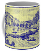 Falls Of The Schuylkill And Fort St Davids 1794 Coffee Mug
