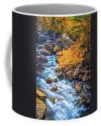 Fall's Rush To South Lake Coffee Mug