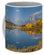Falltime At Oxbow Bend Coffee Mug