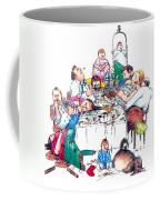 Family Dinner Coffee Mug