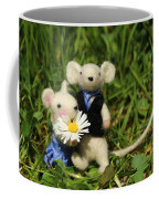 Family Mouse On The Spring Meadow .1. Coffee Mug