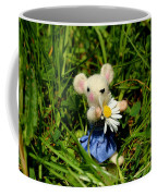 Family Mouse On The Spring Meadow Coffee Mug