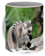 Family Of Lemurs Coffee Mug