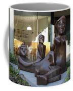 Family Sculpture Coffee Mug
