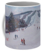 Family Ski Coffee Mug