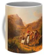 Family With Animals Coffee Mug