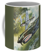Famous Aircraft And Their Pilots Coffee Mug
