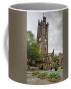 Famous Cathedral Of Manchester City In  Uk Coffee Mug