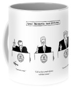 Famous Presidential Hand Gestures Coffee Mug