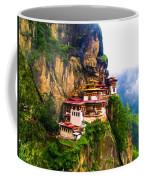 Famous Tigers Nest Monastery Of Bhutan 11 Coffee Mug