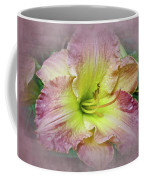Fancy Daylily In Pink And Yellow Coffee Mug