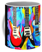 Fancy Guitars Coffee Mug