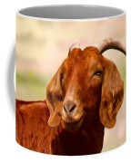 Fancy The Red Goat Coffee Mug